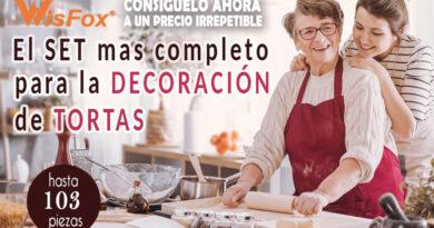 DECORACION DE PASTELES – EL SET MAS COMPLETO